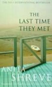 The last time they met - Anita Shreve (ISBN 9780349114491)