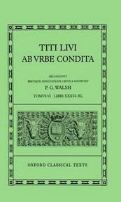 Titi Livi Ab urbe condita: Libri VI-X - Livy (ISBN 9780198146643)
