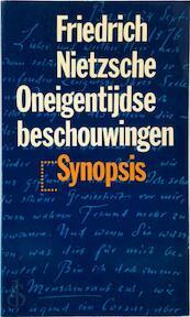 Oneigentijdse beschouwingen - Friedrich Nietzsche, Thomas Graftdijk (ISBN 9789029532495)