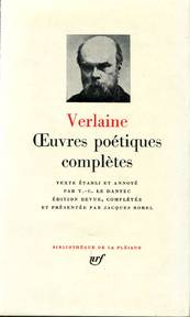 Oeuvres poétiques complètes - Paul Verlaine (ISBN 9782070105793)