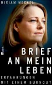 Brief an mein Leben - Miriam Meckel (ISBN 9783498045166)