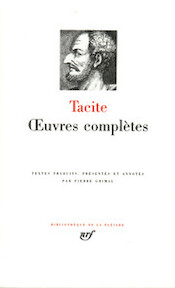 Oeuvres Complètes - Tacite (ISBN 2070111768)