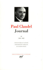 Journal - Tome II - Paul Claudel (ISBN 9782070101467)