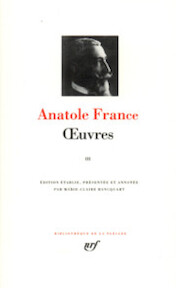 Oeuvres - Tome III - Anatole France (ISBN 207011211x)