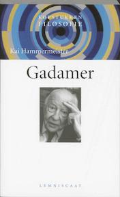 Gadamer - Kai Hammermeister (ISBN 9789056374235)
