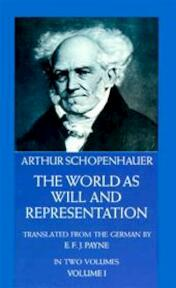 The World As Will and Representation - Arthur Schopenhauer (ISBN 9780486217611)