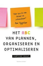 Het ABC van plannen en organiseren - Martine Vecht (ISBN 9789047011484)