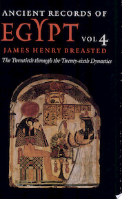 Ancient Records of Egypt: The first through the seventeenth dynasties - James Henry Breasted (ISBN 9780252069901)