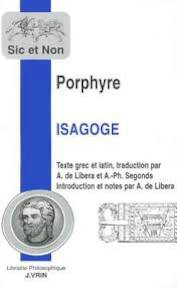 ISAGOGE TRADUCTION DE LIBERA - Porphyre (ISBN 9782711613441)
