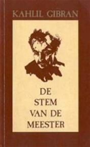 Stem van de meester - K. Gibran (ISBN 9789060779606)