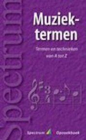 Muziektermen - Th. Willemze (ISBN 9789027469717)