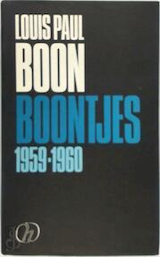 Boontjes / 1959-1960 - L.P. Boon (ISBN 9789050670524)