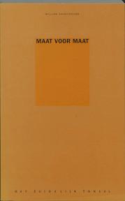 Maat voor maat - William Shakespeare (ISBN 9789064034312)