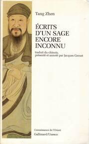Ecrits d'un sage encore inconnu - Zhen Tang (ISBN 9782070724406)