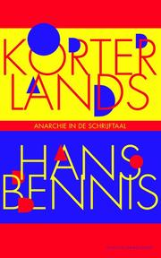 Korterlands - Hans Bennis (ISBN 9789035138070)