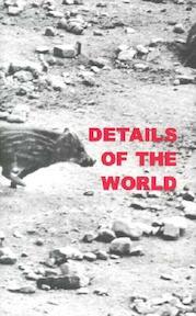 Details of the World - Sophie Ristelhueber, Cheryl Brutvan (ISBN 9780878466252)