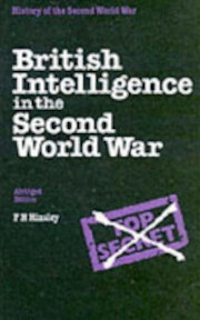 British Intelligence in the Second World War - Francis Harry Hinsley (ISBN 9780116309617)