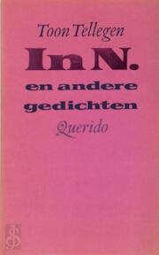 In n. en andere gedichten - Tellegen (ISBN 9789021483856)