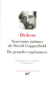 Souvenirs Intimes de David Copperfield - De Grandes Espérances - Charles Dickens