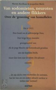 Van sodomieten, neuroten en andere flikkers - Marnix Koolhaas, Jacqueline Maris (ISBN 9789062916542)