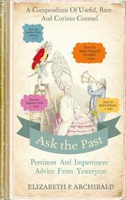 Ask the Past - Elizabeth Archibald (ISBN 9780224101240)