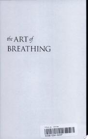 The Art of Breathing - Nancy Zi (ISBN 9781583940341)