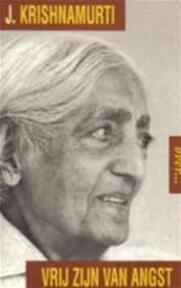 Over... vrij zijn van angst - J. Krishnamurti (ISBN 9799069634530)