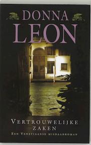 Vertrouwelijke zaken - Donna Leon (ISBN 9789022541081)