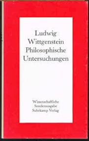 Philosophische Untersuchungen - Ludwig Wittgenstein