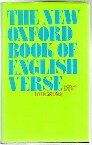 The new Oxford book of English verse: 1250-1950 - Helen Gardner