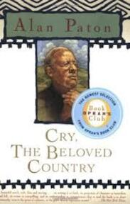 Cry the beloved country - Alan Paton (ISBN 9780684818948)