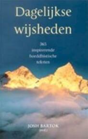 Dagelijkse wijsheden - Josh Bartok (ISBN 9789045301112)