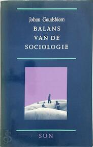 Balans van de sociologie - Johan Goudsblom (ISBN 9789061683360)