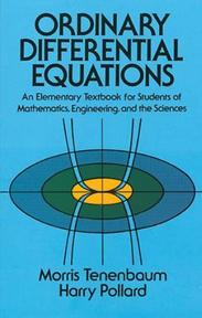 Ordinary Differential Equations - Morris Tenenbaum (ISBN 9780486649405)
