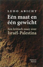 Een maat en een gewicht - Ludo Abicht (ISBN 9789077070253)