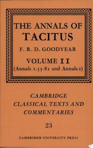 The Annals of Tacitus: Volume 2, Annals 1.55-81 and Annals 2 - Cornelius Tacitus (ISBN 9780521604338)