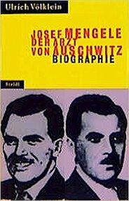 Josef Mengele - Ulrich Völklein (ISBN 9783882437478)