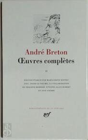 Oeuvres complètes - Tome II - André Breton (ISBN 9782070112340)