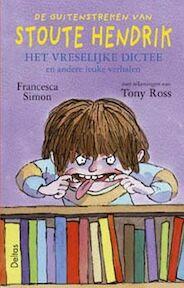 Het vreselijke dictee - F. Simon (ISBN 9789044707281)