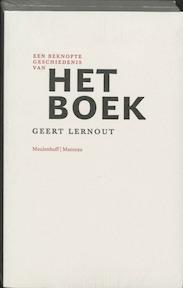 Het boek - Geert Lernout (ISBN 9789059900042)