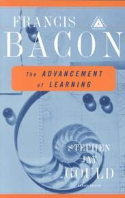 The Advancement of Learning - Francis Bacon (ISBN 9780375758461)
