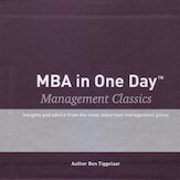 MBA in One Day - Management Classics - Box with 10 audiobooks - Ben Tiggelaar (ISBN 9789079445370)