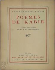 Poëmes de Kabir - Rabindranath Tagore
