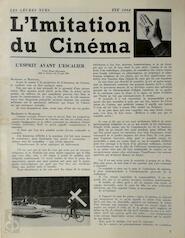 L'imitation du Cinéma - Marcel Mariën, André Souris, Leo [Photograps] Dohmen
