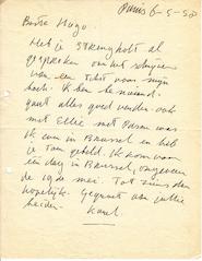 APPEL aan Hugo CLAUS - 8 gesigneerde brieven - APPEL, Karel
