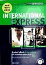 International Express Intermediate. Student's Book with Pocket Book,DVD-ROM - Liz Taylor (ISBN 9780194597371)