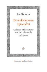 De middeleeuwen zijn anders - Jozef Janssens (ISBN 9789053568507)