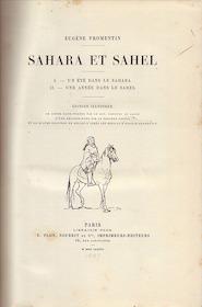 Sahara et Sahel - Eugène Fromentin