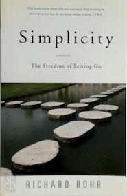 Simplicity - Richard Rohr (ISBN 9780824521158)