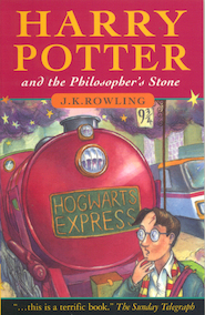 Harry Potter and the philosopher's stone - J. K. Rowling (ISBN 9780747532743)